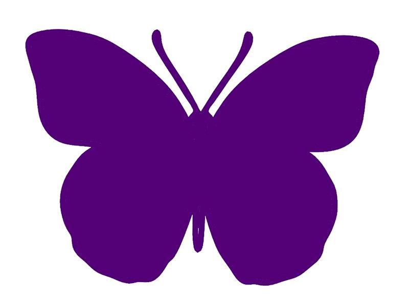 mariposa purpura en hospitales y cuneos